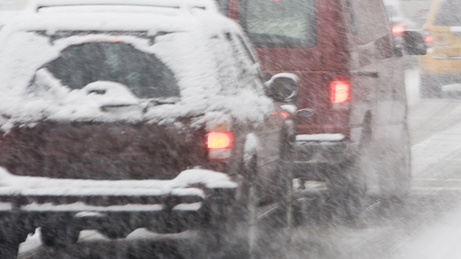 1 killed in huge car pileup in New York snowstorm (VIDEO)
