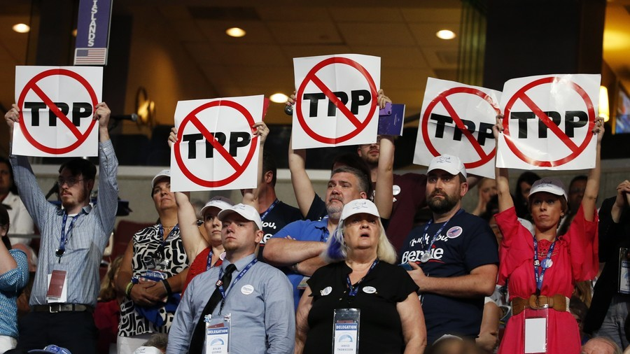 Forget the single market! Britain could join hated Trans-Pacific Partnership instead