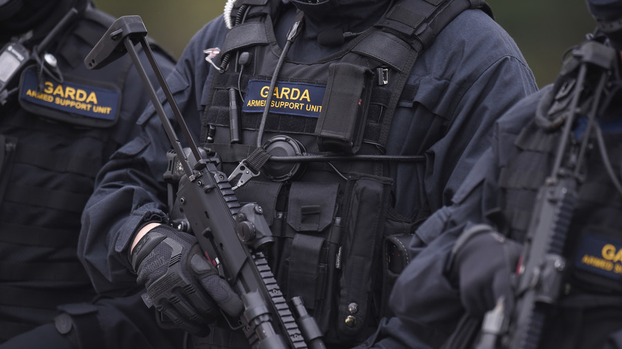 Irish police probe terrorist link as Egyptian man goes on street rampage