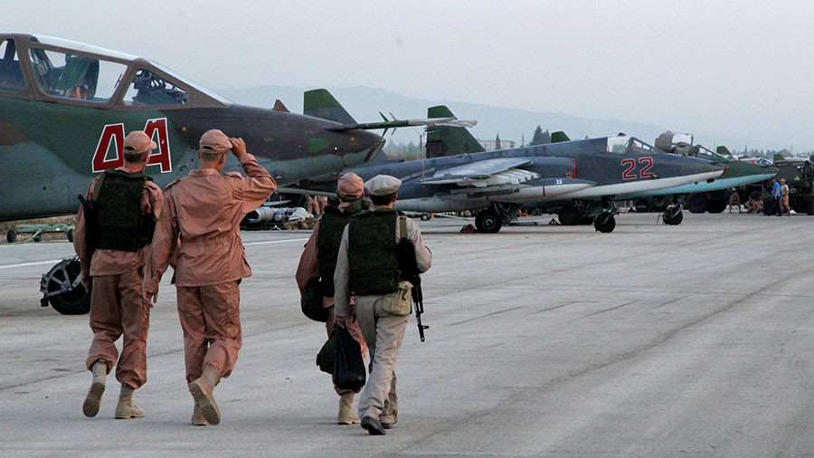 2 Russian military personnel killed in shelling of Khmeimim air base in Syria