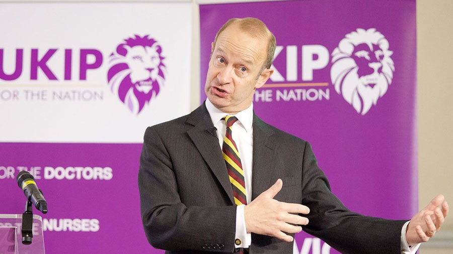 UKIP leader Henry Bolton in relationship with 25-year-old model