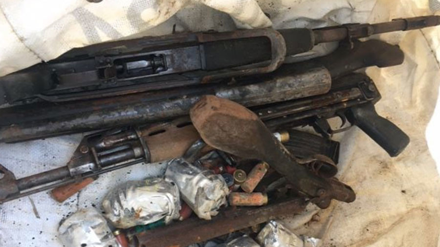 Haul of guns, ammo and explosives found in derelict Essex building