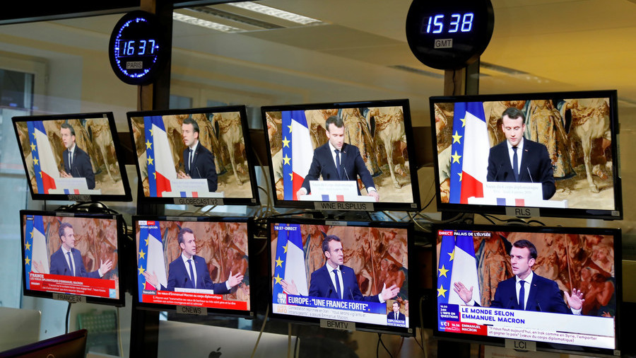 'Vision of censure: Macron's 'fake news' fighting undermines France's democracy'