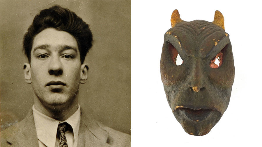 Masks crafted by notorious London gangster Ronnie Kray up for auction