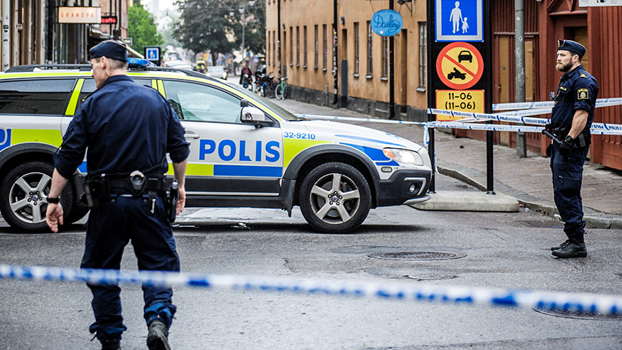 Man dies after object he picked up near Stockholm metro explodes