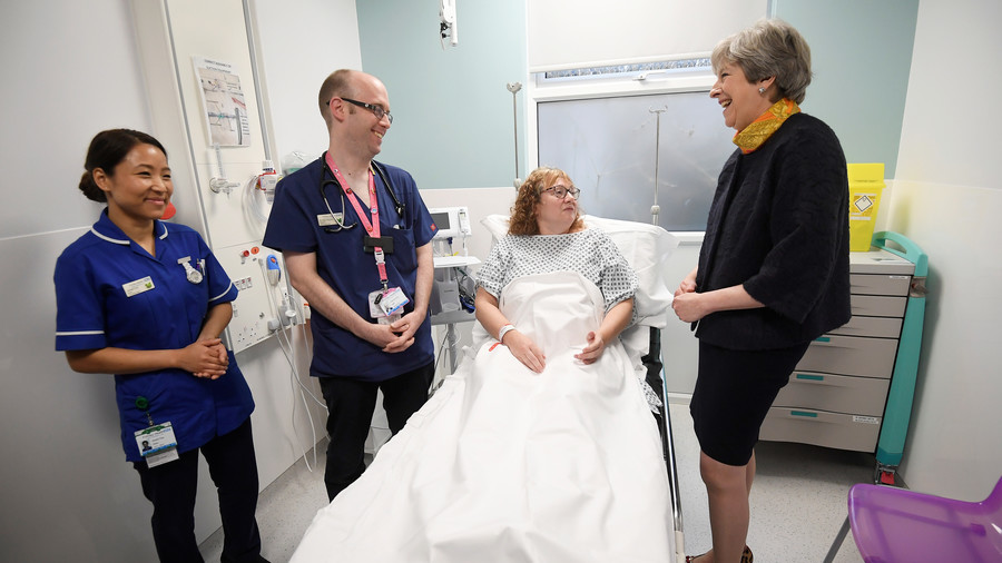 'Nothing is perfect' – May roundly derided for NHS comments