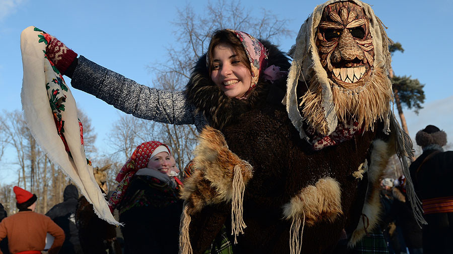 Party like a Russian (peasant): Christmas festival mixes Orthodox and pagan rites