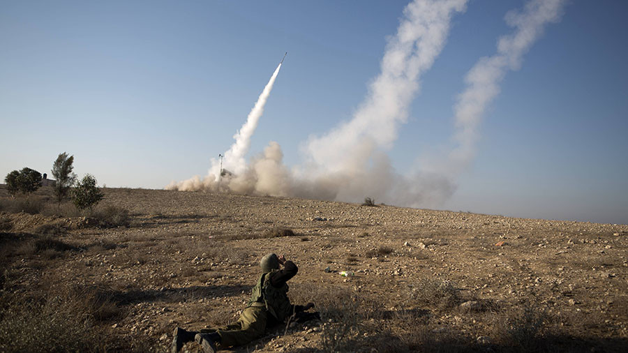 Syrian army claims it shot down Israeli jet, missiles