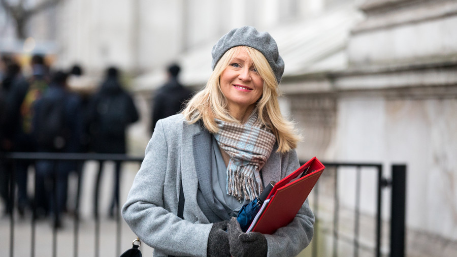 Next to go? Thousands sign petition to sack 'scrooge' Work & Pensions Secretary Esther McVey