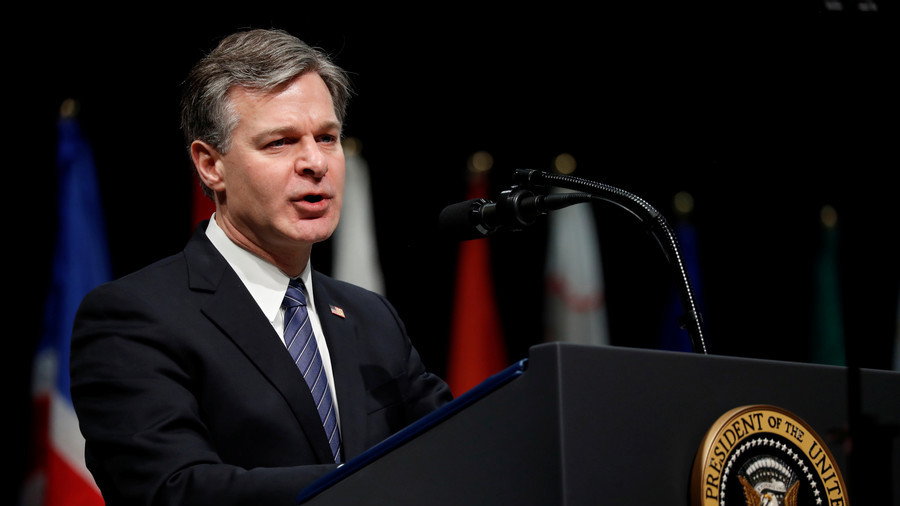 FBI director slams strong encryption as 'urgent public safety issue'
