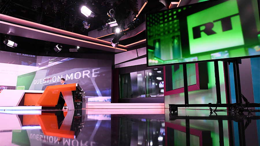 RT under fire because it 'gives a voice to critics of US system while MSM parrot govt line'