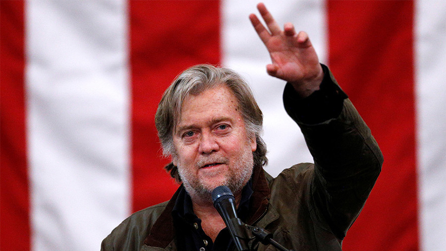 Steve Bannon resigns from Breitbart executive chair post