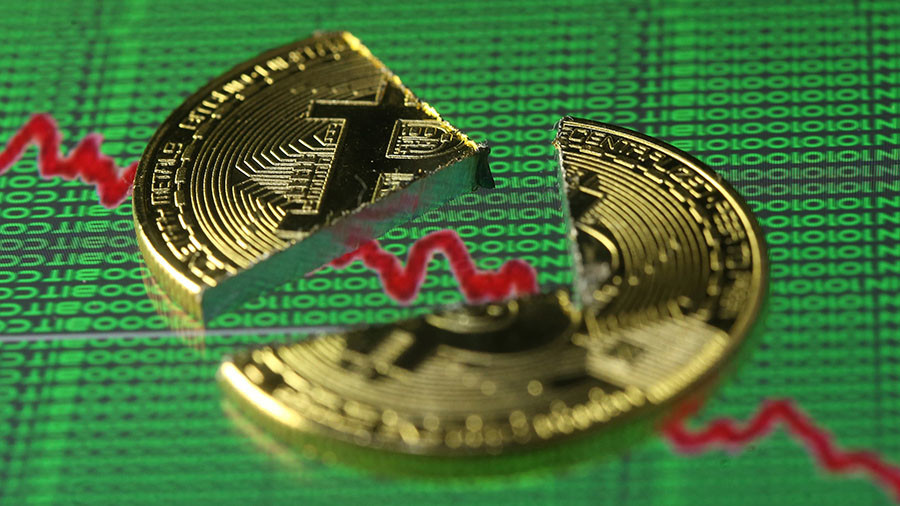 Bitcoin continues sinking down 30% from peak as China