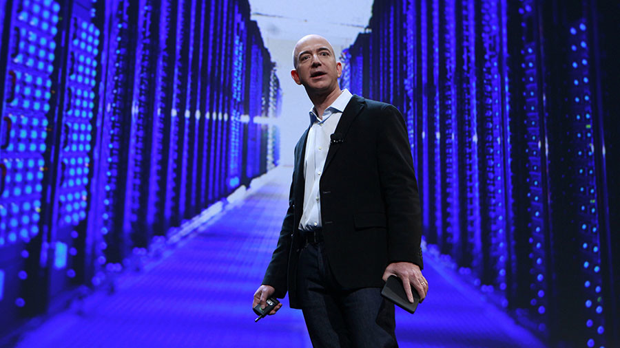 Jeff Bezos' wealth hit a high $USD105.1 billion surpassing Bill Gates