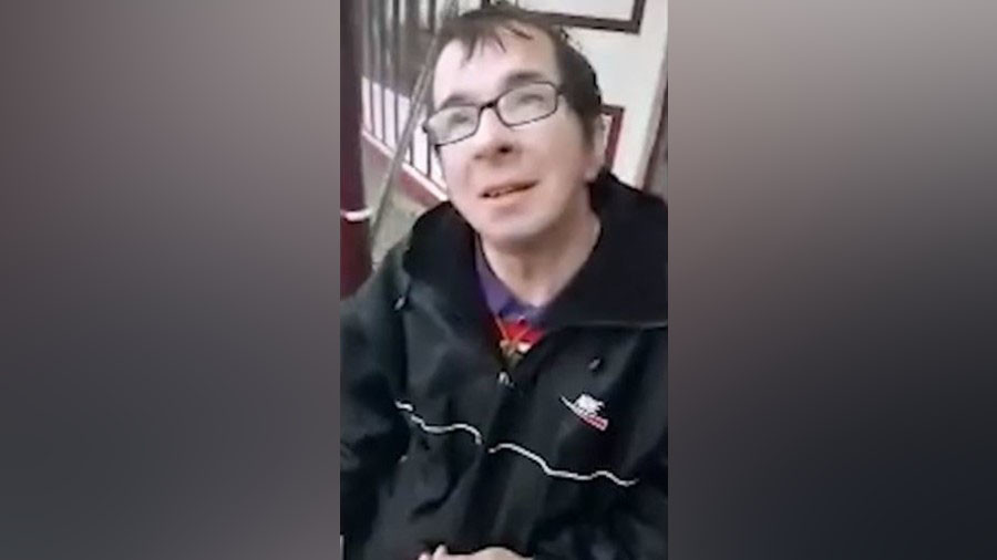 Disabled sex offender snared by pedophile hunters spared jail (VIDEO)