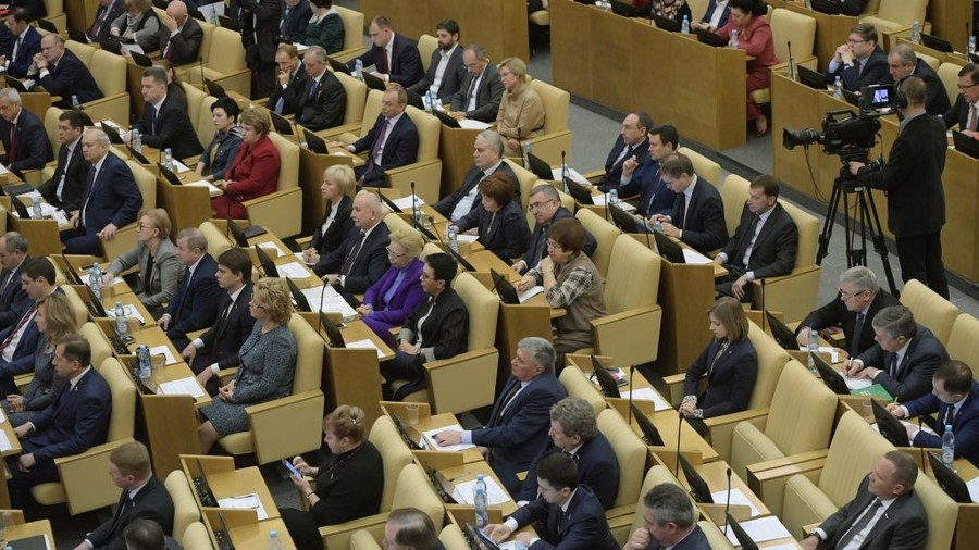Duma accuses foreign agents of meddling in Russia's affairs ahead of election