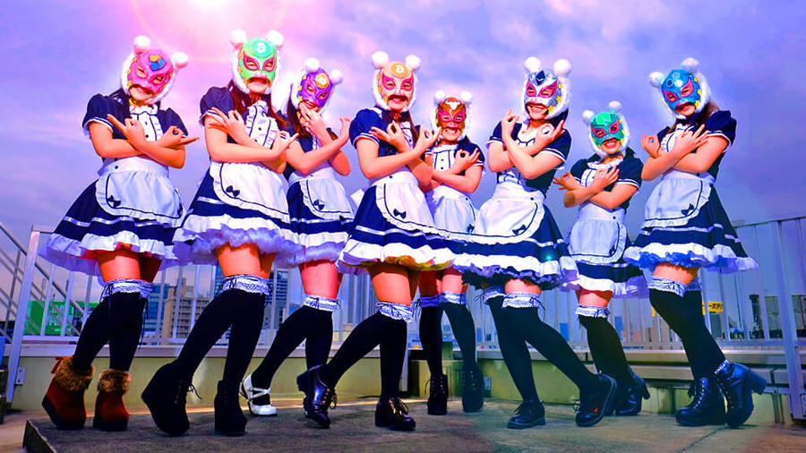 Virtual Currency Girls: World gets its first cryptocurrency pop group 5a576ad6fc7e933f708b4567