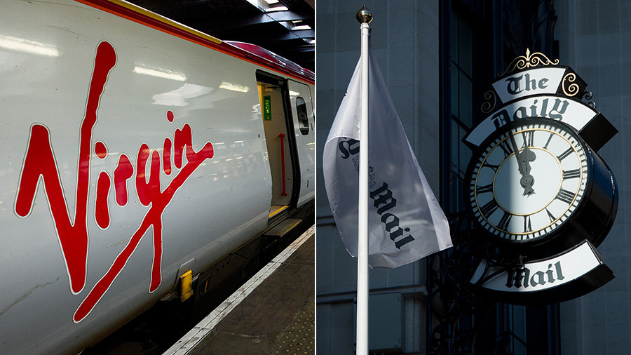 Freedom of speech? Liberal Twitter battle over Virgin Trains ditching the Daily Mail