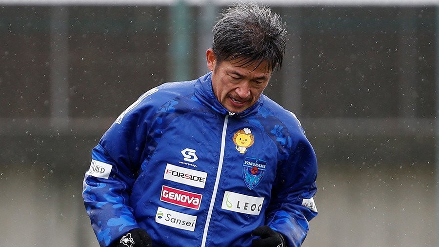 Record-breaking 50yo Japanese footballer signs contract extension