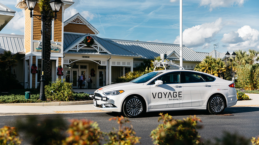 Florida retirement village tells residents to take a back seat with fleet of self-driving cars