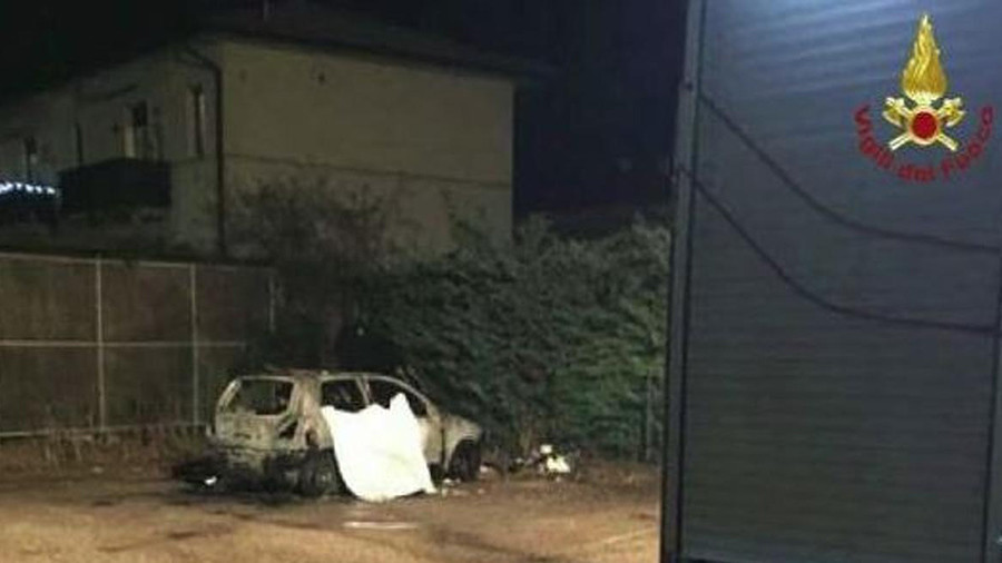 'It was a joke': Italian police question teens over homeless Moroccan incinerated in car