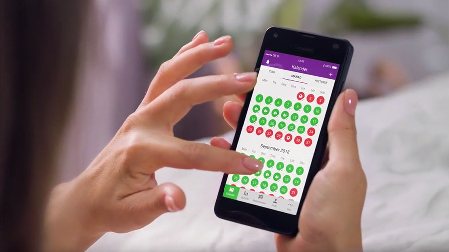 Uproar over contraceptive app after 37 users fall pregnant