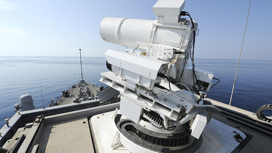 'We're very excited': US Navy to test warship laser weapon