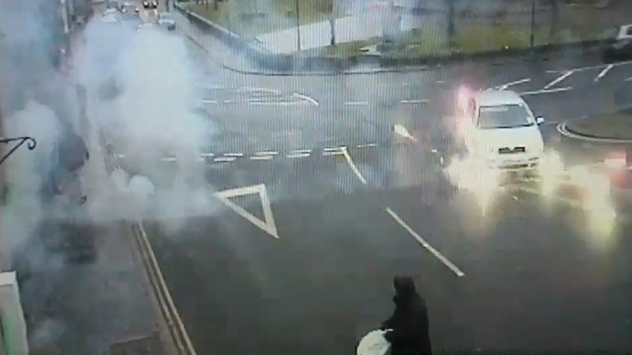 Man jailed after 'reckless' fireworks display on remote Scottish island (VIDEO)