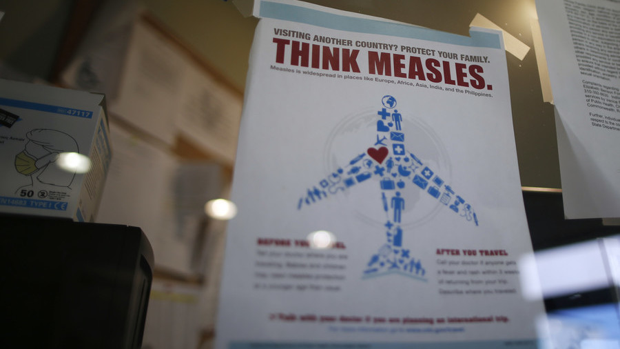 'You may be infected': Measles alert at Newark Airport as highly contagious disease case confirmed