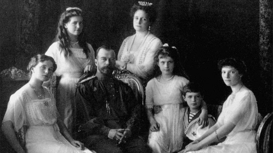 #Romanovs100: RT tells royal family's story in new online photo-project