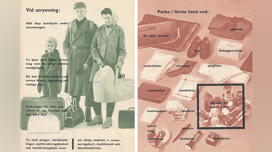 Sweden to issue updated 1940s 'war guide' amid threats of terrorism & climate change