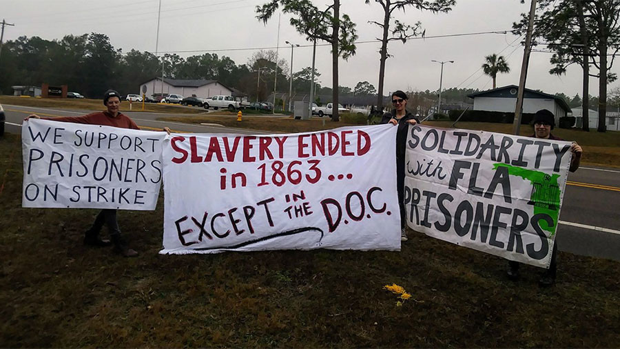 Florida prisoners launch month-long work strike to protest 'slave labor'