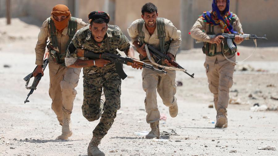 Erdogan demands NATO take stand on US-backed Syrian Border Force