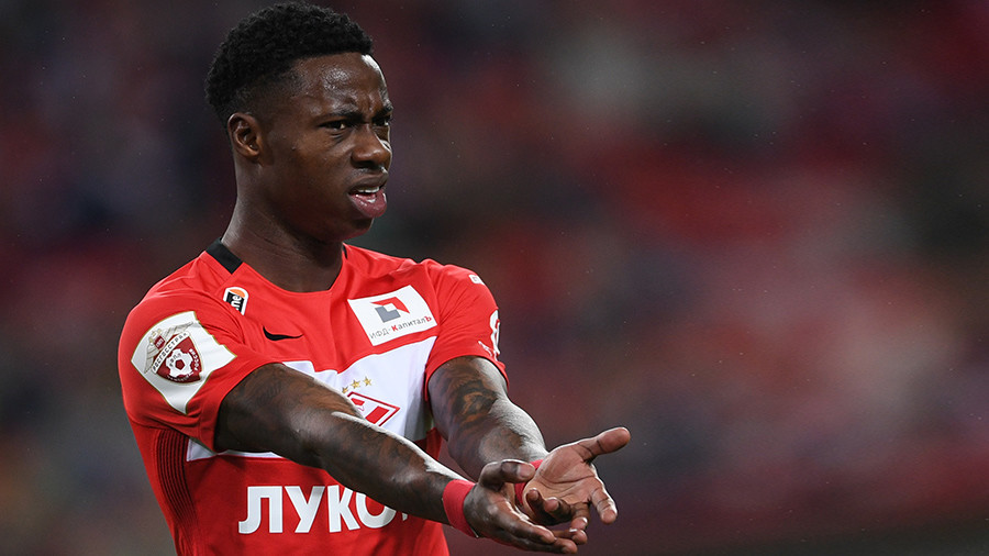 'It was sensationalized by journalists!' - Spartak player on 'chocolates' tweet racism row