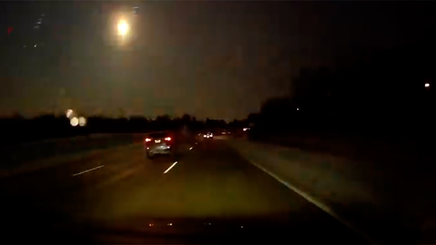 Meteor lights up night sky, rattles Michigan with 'loud boom' (VIDEOS)