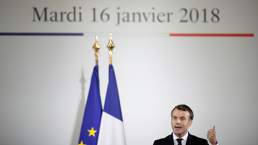 The great Bayeux Tapestry bribe: Macron's charm offensive to push May into migrant deal