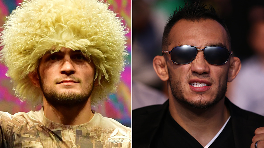 Khabib Nurmagomedov will fight Tony Ferguson in Brooklyn at UFC 223 - Dana White