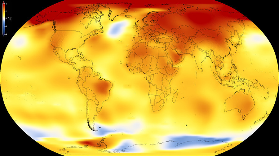 2017 was a hot one for Earth - NASA