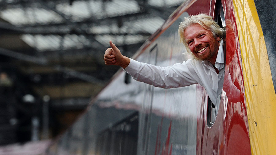 'Branson bailout' protests erupt as anger grows with East Coast rail (VIDEO)