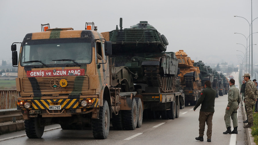 Ankara says 'has no option' but to attack Syrian Kurds in Afrin, starts cross-border shelling