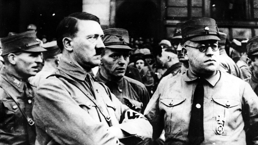 """a biography of adolf hitler the fuhrer In their own words, they will tell you what happened to the führer of germany   of adolf hitler from the perspective of those who accompanied him  the  footage has been described as """"lost to history,"""" but starting in the early."""