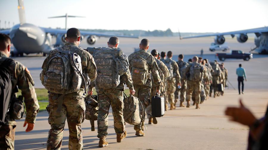 War will go on despite US govt shutdown, Pence & Mattis reassure troops
