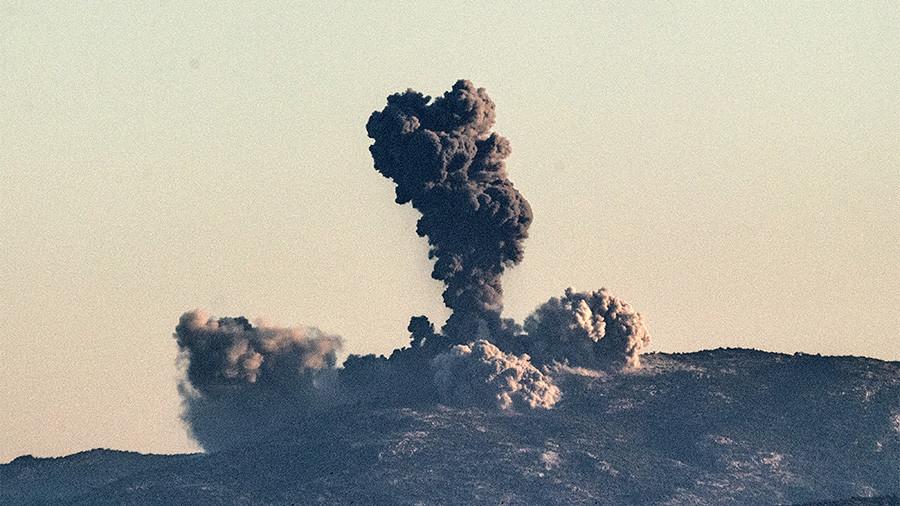 Turkish Ground Offensive Targets Syrian Kurdish Enclave