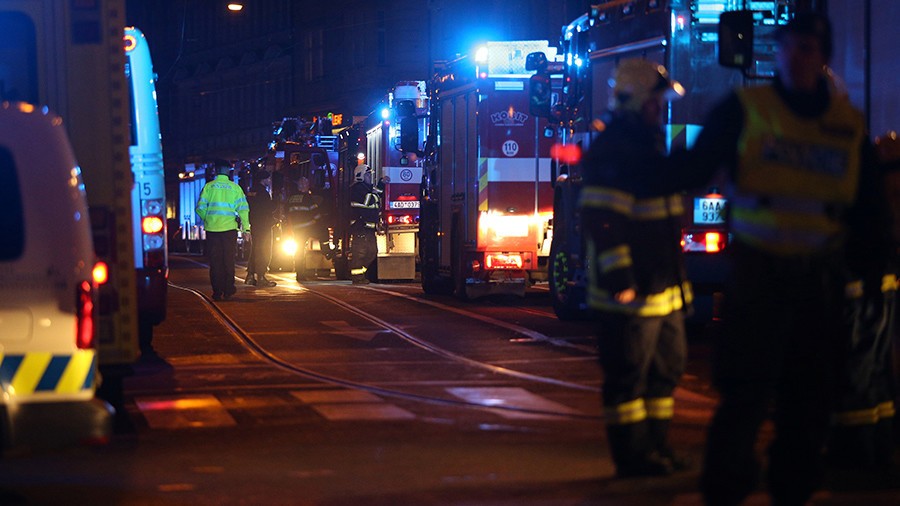 At least 2 dead, 9 injured in Prague hotel fire