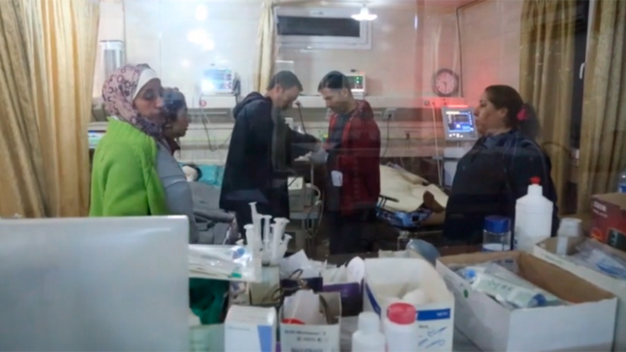 10 reported deaths in Turkish strikes on Afrin, wounded civilians rushed to hospital (GRAPHIC VIDEO)