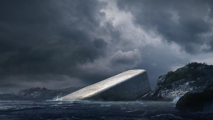 'Madness & reason': Construction begins on world's largest underwater restaurant  (PHOTOS)
