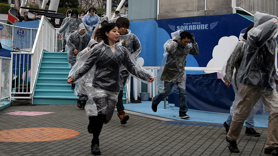 Tokyo holds 'first ever' missile attack drills amid N. Korea tensions