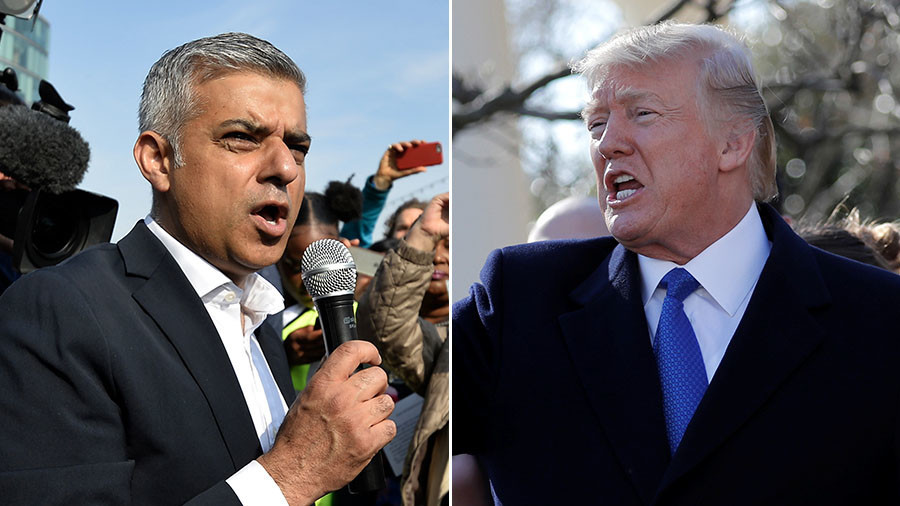 London mayor compares Donald Trump's language to 'rhetoric of ISIS'