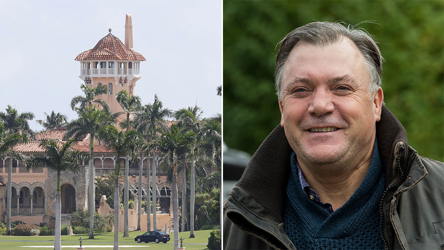 BBC backs Ed Balls revealing the secret behind his partying with 'Trumpettes' at Mar-a-Lago