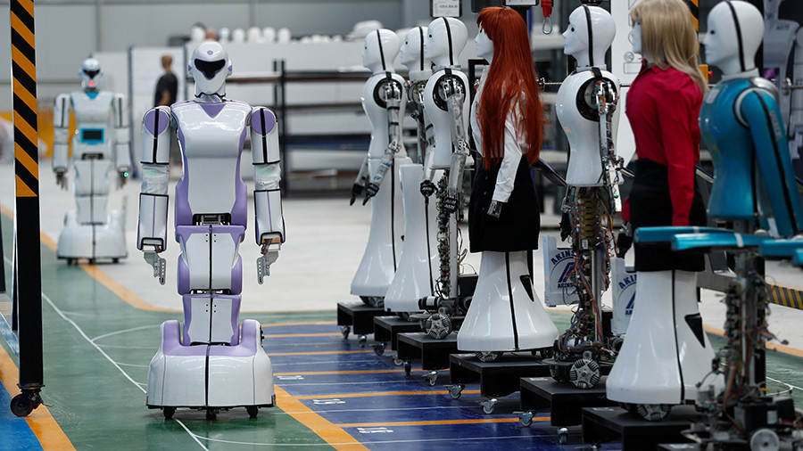 The robots are coming… for women's jobs